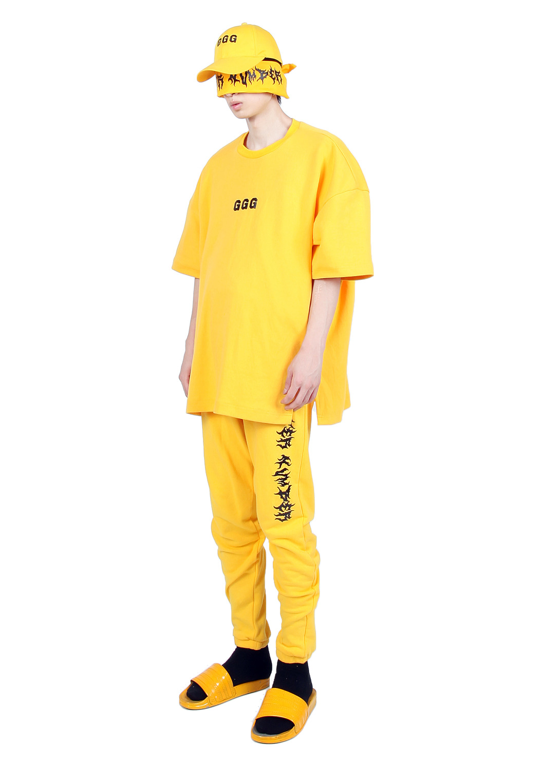 YELLOW GGG T-SHIRTS