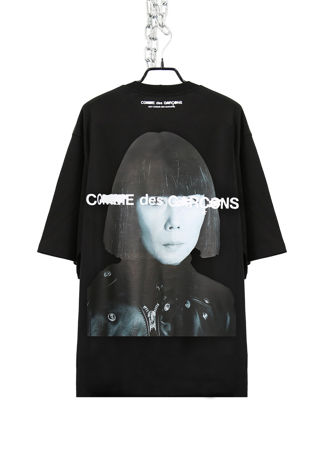 FAKE FACE LONG T-SHIRTS (C*MME D*S GAR**NS)