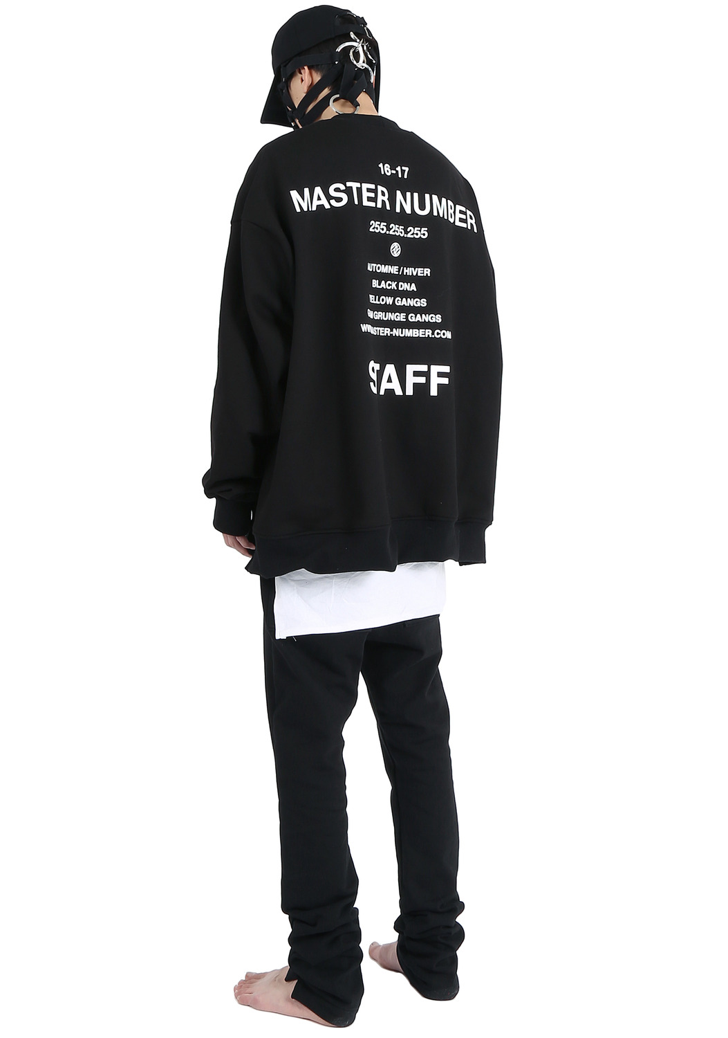 MASTER NUMBER STAFF SWEAT SHIRTS