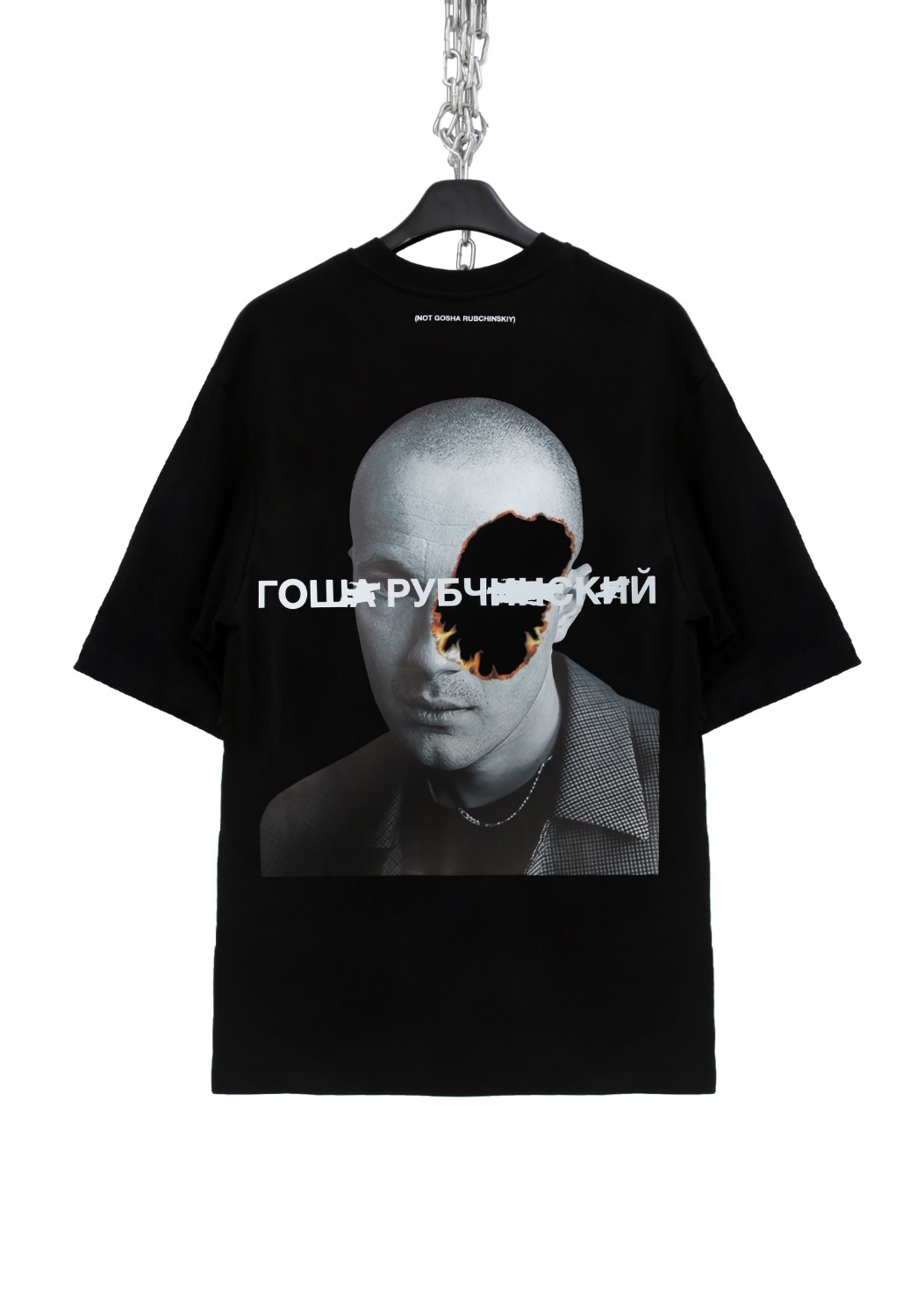 FAKE FACE BURN T-SHIRTS(GOSHA)