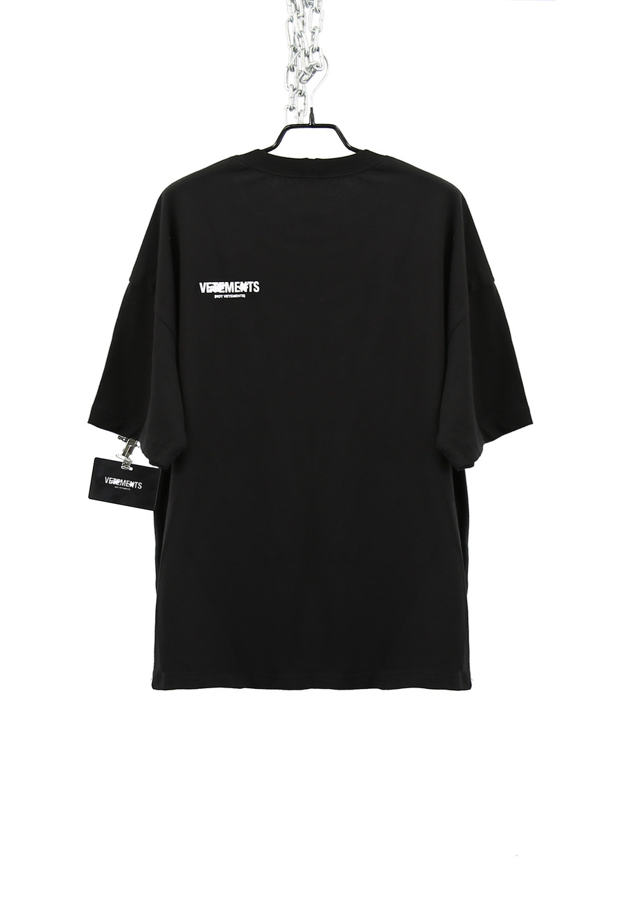 FAKE BURN FRONT T-SHIRTS (VET***NTS)