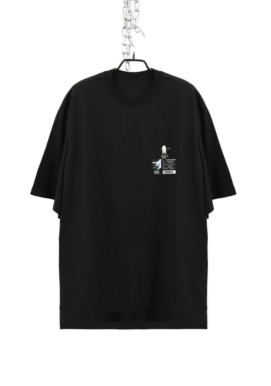FAKE FACE LONG T-SHIRTS (VET***NTS)