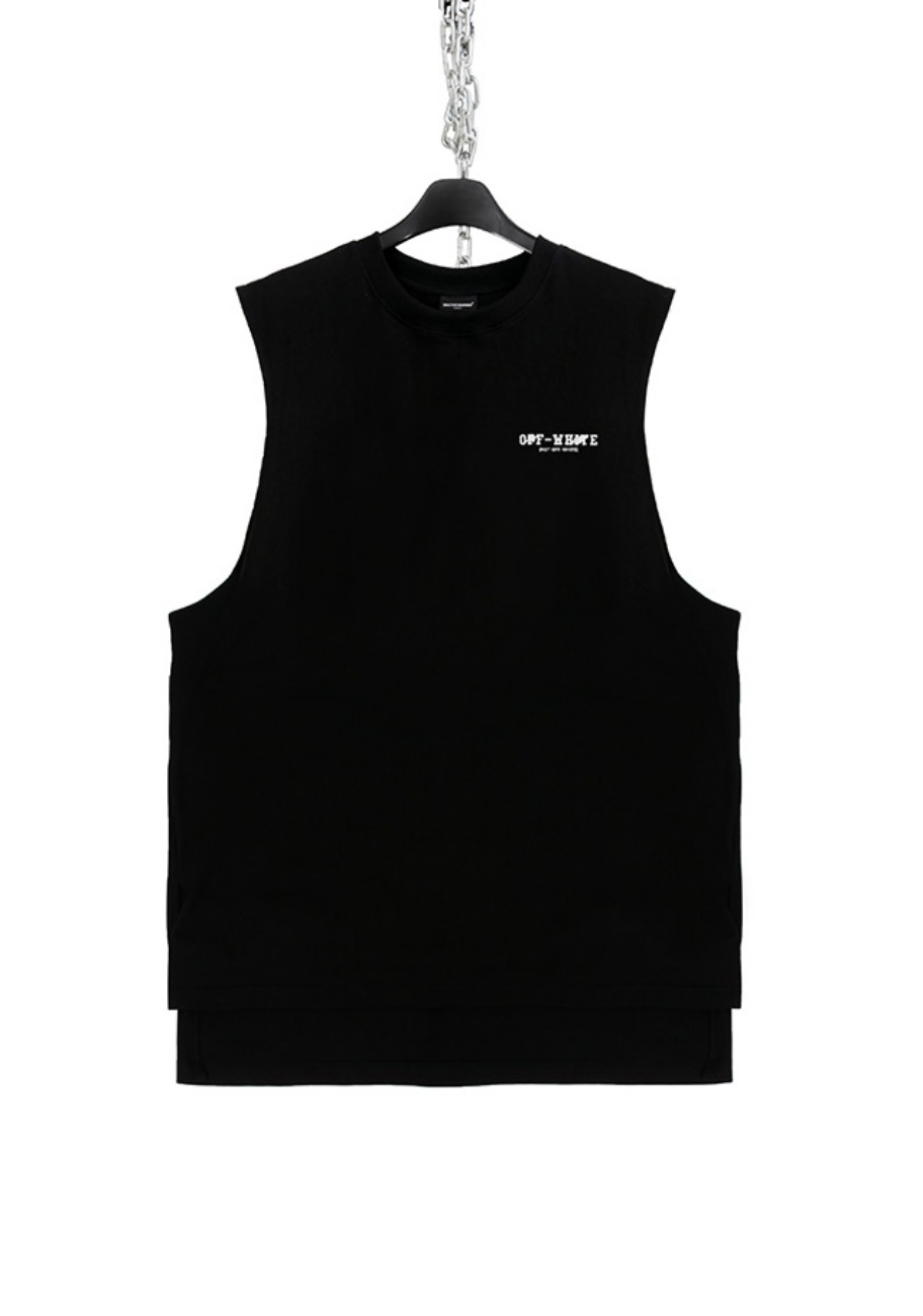 FAKE FACE BURN SLEEVELESS(OFF)