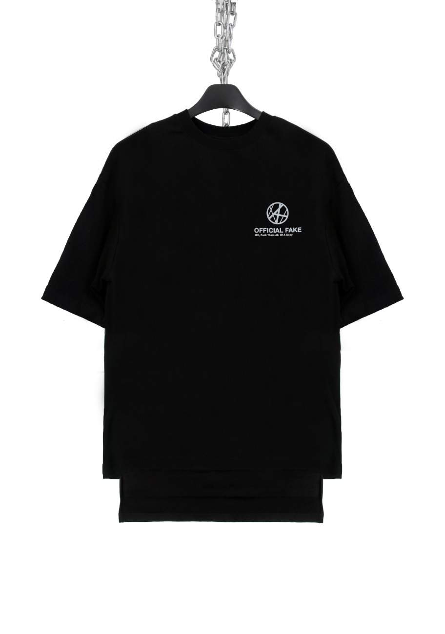OFFICIAL FAKE BACK SLIT T-SHIRTS SCOTCH