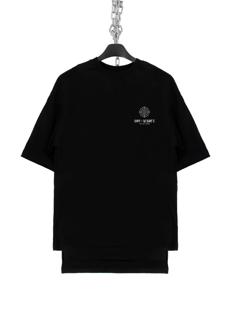 FAKE BACK SLIT T-SHIRTS SCOTCH(OFF)