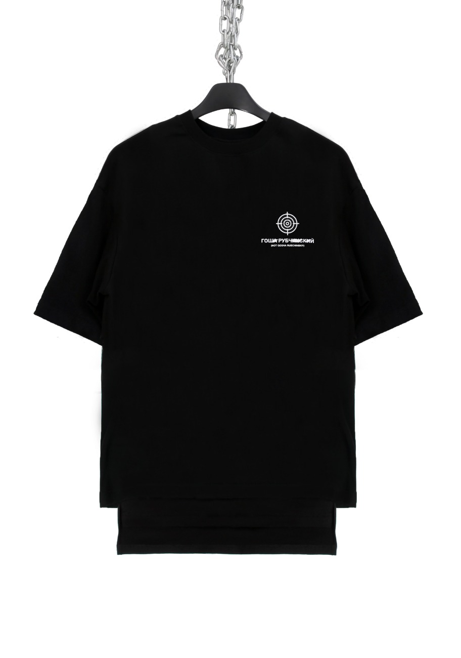 FAKE BACK SLIT T-SHIRTS (GOSHA)