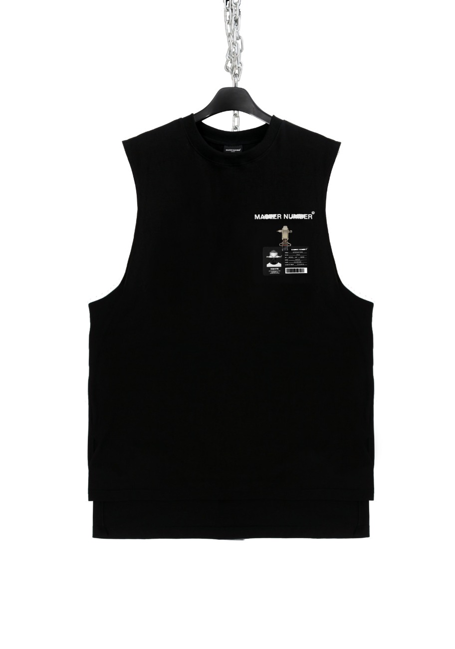OFFICIAL FAKE FACE SLEEVELESS